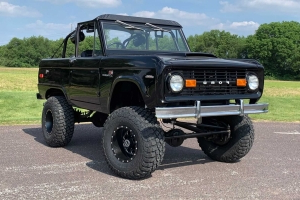 Custom 1971 Ford Bronco Will Roll Right Into Your Dreams
