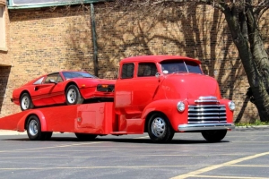 Haul Your Classics With A Classic 1947 Chevrolet Snub Nose COE