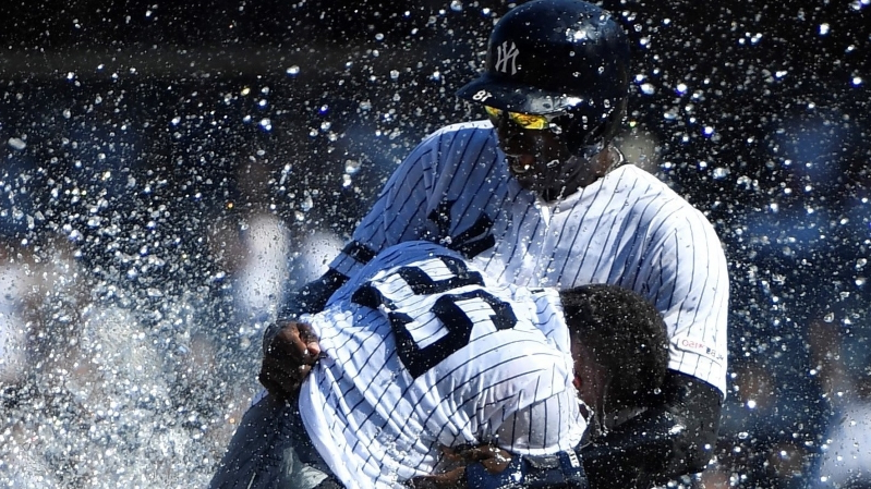 Sport: A bad start and a blown save can't stop these Yankees