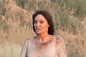 EXCLUSIVE: Back in action! Angelina Jolie is seen covered in 'blood' as she does her own stunts for upcoming thriller Those Who Wish Me Dead in the New Mexico desert