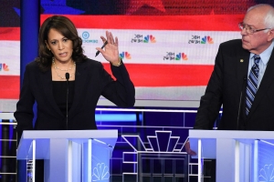 Poll: Biden support sinks, Harris moves up to third place after Democratic debate