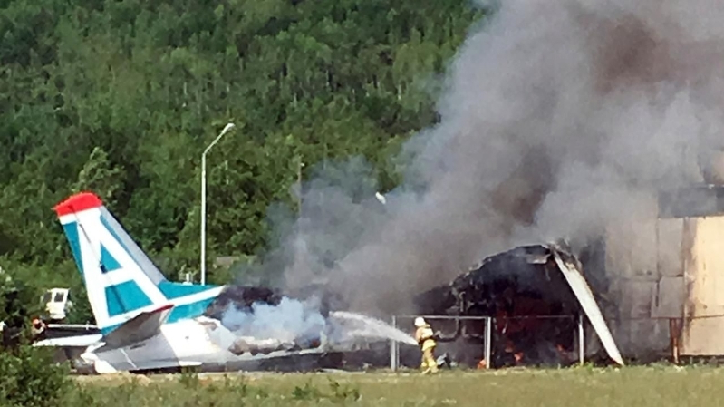 US News: 10 killed after small plane crashes into Texas