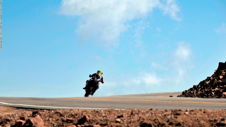 Sport: Carlin Dunne: Four-time Pikes Peak winner killed in