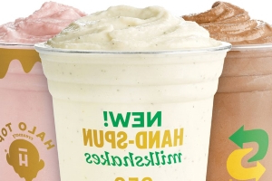 Halo Top Is Testing Creamy, 350-Calorie Milkshakes At Subway Locations Across The Country In Three Flavors