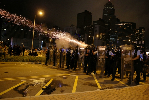 Hong Kong police move to forcibly clear protesters occupying legislature complex