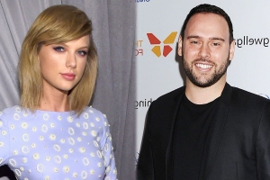 Taylor Swift Likes Pointed Messages About Scooter Braun & Justin Bieber -- Including One About Selena Gomez