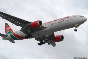 'There was a BODY on the lawn': Residents' horror as stowaway immigrant falls from Kenya Airways jet into garden of £2.3m London home after he hid above wheel and froze to death