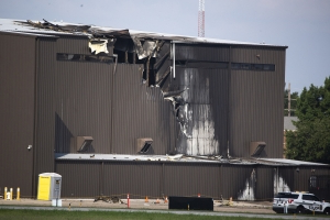 US: A plane that crashed at Addison Airport was upside down when it