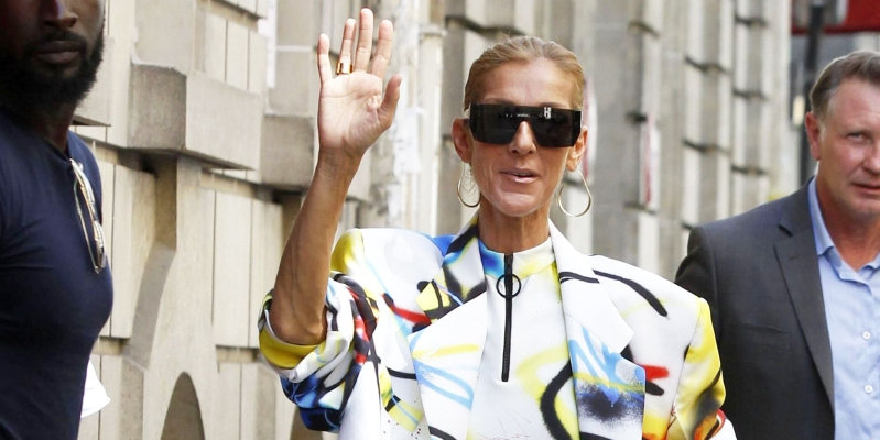 Celine Dion Wore No Pants During a Paris Heatwave and Honestly, Same