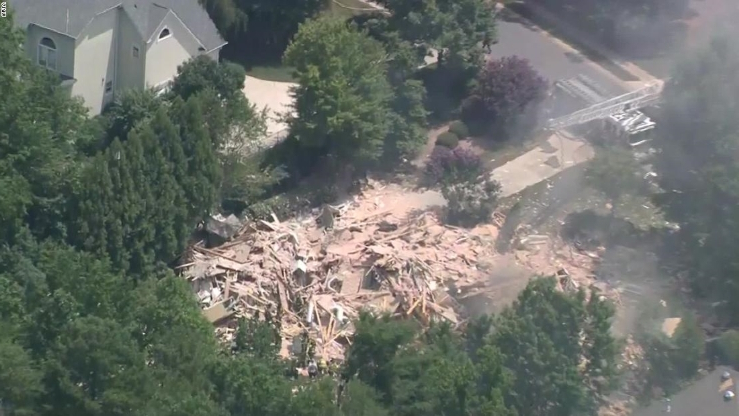 Charlotte explosion: Crews find 1 person in debris after massive home explosion