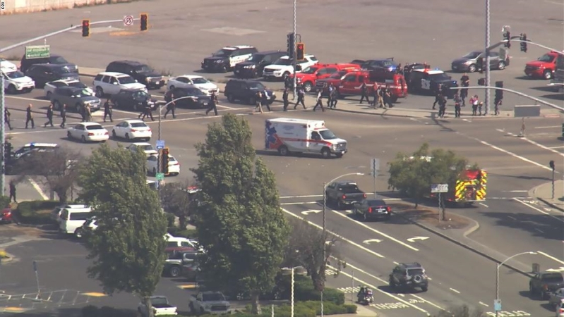 San Bruno mall shooting: Police searching for suspect after at least 2 hurt