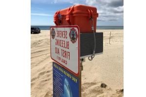 Bleeding kits available on Cape Cod beaches in case of shark attack