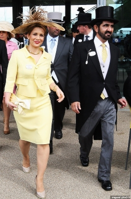World: EXCLUSIVE: Dubai ruler's wife Princess Haya spent months