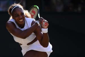 Serena Williams survives second-round Wimbledon scare from unseeded opponent