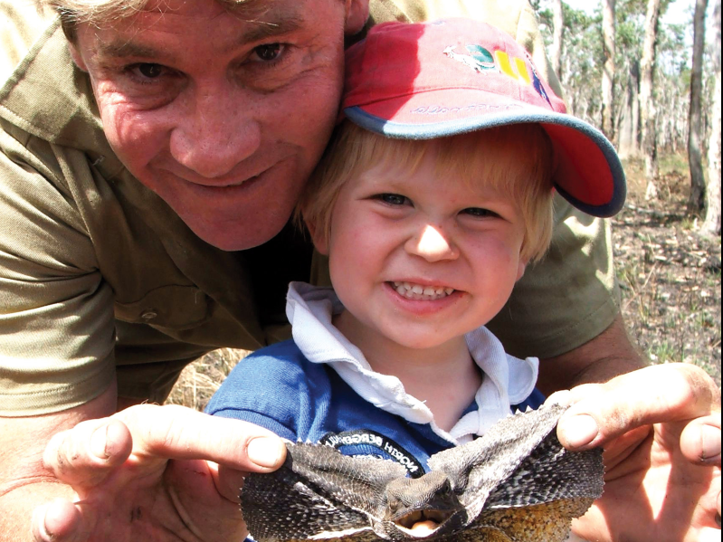 Entertainment Steve Irwin S Son Shared A Photo Of Him And His Dad Feeding The Same Crocodile 15 Years Apart And The Two Could Be Twins Pressfrom Us