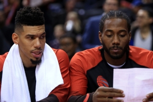 Danny Green on Kawhi Leonard's free agency: 'I try to leave him alone'