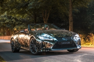 Lexus LC Convertible Prototype Rolls Into the Festival of Speed