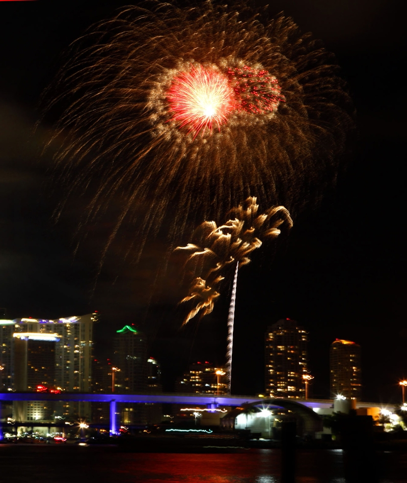 'Major disappointment': Miami fireworks show cut short after bomb scare