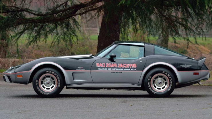 This 1978 Chevrolet Corvette Pace Car is Showroom New