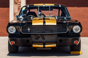 You could buy this genuine 1966 Shelby Mustang GT350H race car