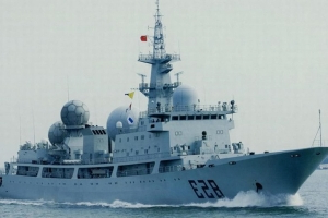 Chinese spy ship heading towards Australia to monitor joint war games off Queensland