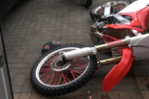 Family left terrified after teen on scrambler bike crashes into front door of home in Finglas