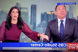 News Anchors Take Shelter on Live TV During Earthquake (Watch)