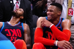 After trade, Russell Westbrook shows love to Paul George on Instagram