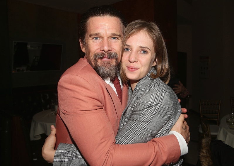 Ethan Hawke's Stranger Things shout out to daughter Maya Hawke proves he's just like your dad