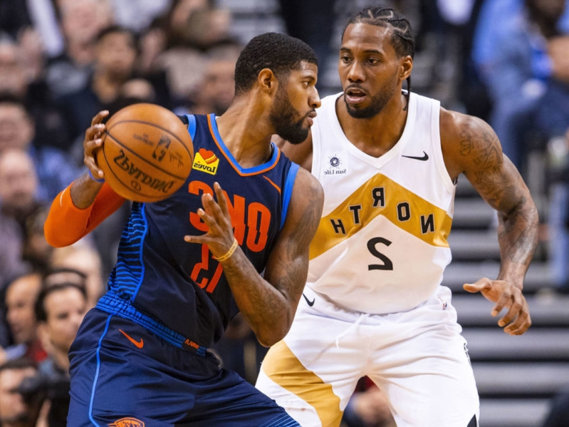 outlet store 47b07 50ebf Sports: Report: Kawhi met with PG on same day of Lakers ...