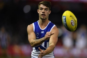 Rhyce Shaw praises Simpkin, but won't discuss his Roos coaching future