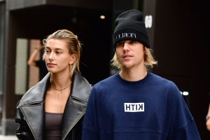 Hailey + Justin Bieber celebrate first anniversary