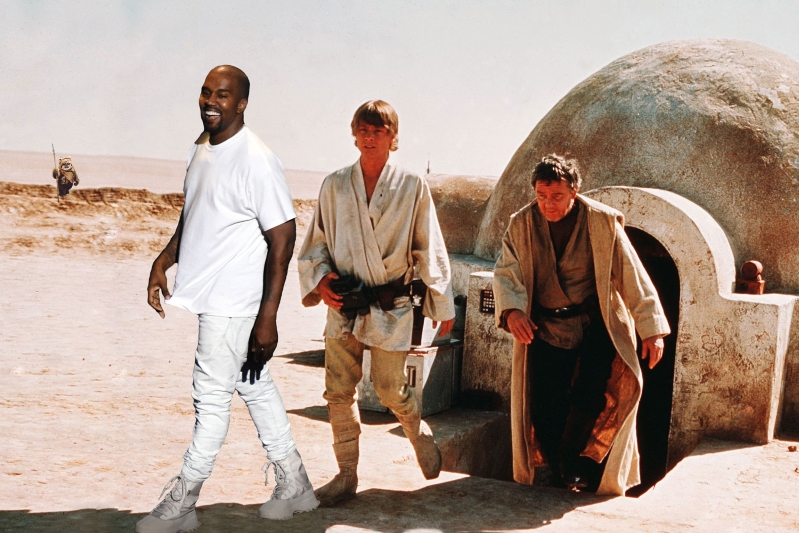 Kanye West to Build 'Star Wars'-Inspired Housing for the Homeless