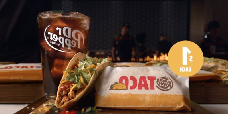 Burger King Is Releasing Crispy Tacos That Cost Only $1 Each, And They Actually Look Delicious