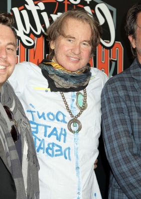 Val Kilmer Continues His Return to the Spotlight with Appearance at Charity Basketball Game