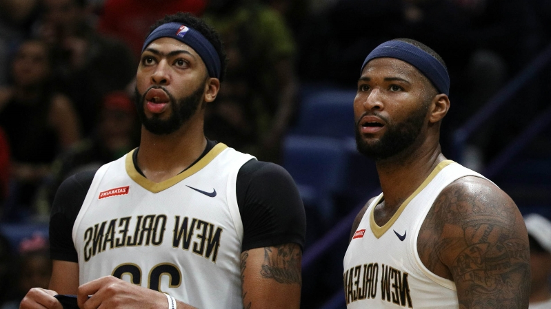 Lakers' DeMarcus Cousins thrilled to be back with Anthony Davis: 'We never wanted it to end'