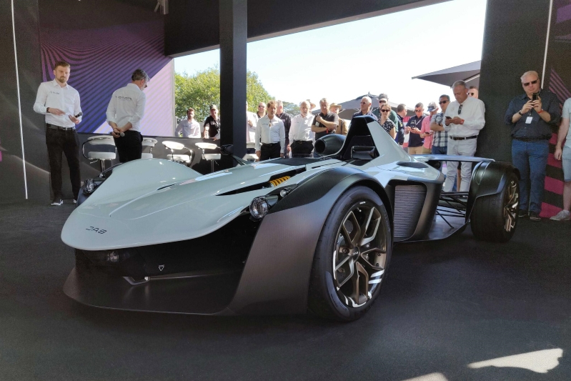 New BAC Mono R launched at Goodwood