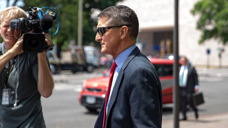 Prosecutors say they will 'reassess' position on Flynn sentencing after former partner's trial