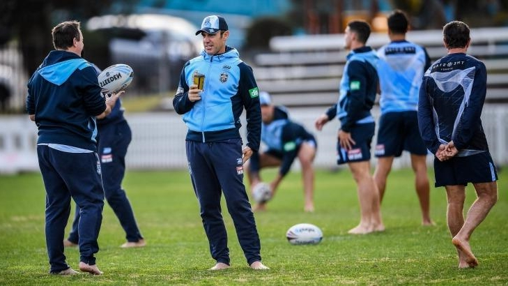 The message Brad Fittler sent to his players with four minutes left