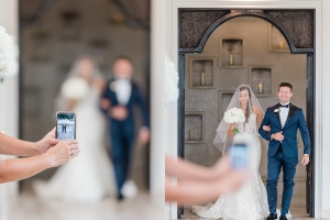 A wedding photographer slammed guests who ruin photos with their phones: 'Let me do my job'