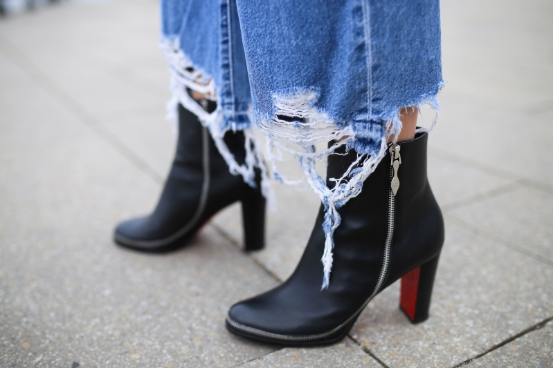 7e672e845 Christian Louboutin says he's 'vaguely horrified' by how some people wear  his shoes