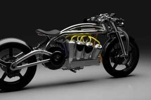 Curtiss Zeus defies motorcycle convention with electric radial V8
