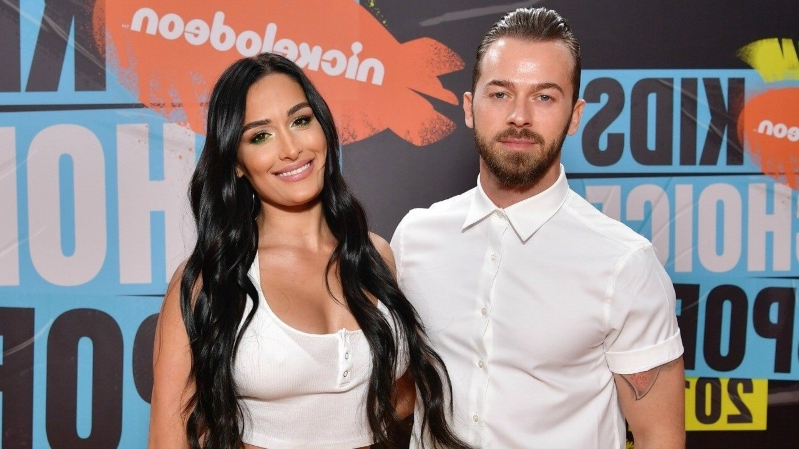 Nikki Bella and Artem Chigvintsev Make Their Red Carpet Debut as a Couple