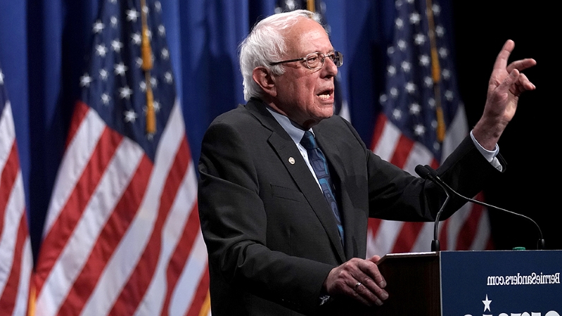 Sanders says he backs abolishing Electoral College