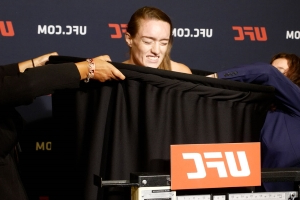 Aspen Ladd brushes off seriousness of frightening UFC on ESPN+ 13 weigh-in