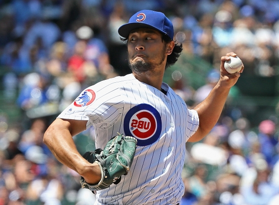 Darvish pitches a gem but gets the no-decision as Cubs rally to beat Pirates