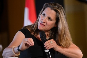 Freeland calls ex-envoy's advice to China about election 'highly inappropriate'