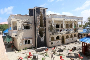 Somali forces end extremist siege of Kismayo hotel; 26 dead