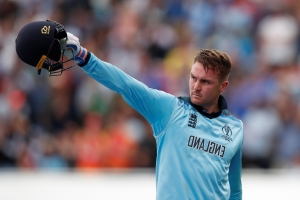 England's serial power hitter Jason Roy relishing chance to become only the second player to whack a six over Lord's pavilion in World Cup final