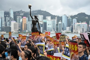 How Canadians are part of an underground network helping Hong Kong protesters in their struggle against Chinese control
